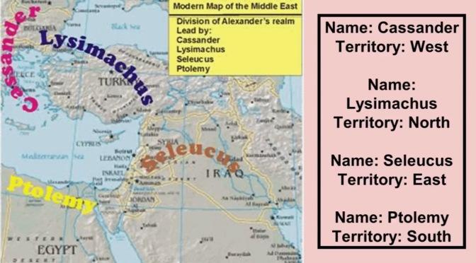 Les Rois de l'Orient de Daniel 11- Rois du nord et du midi!